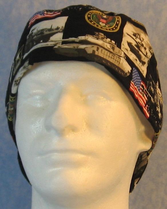 Welding Cap in US Army-front