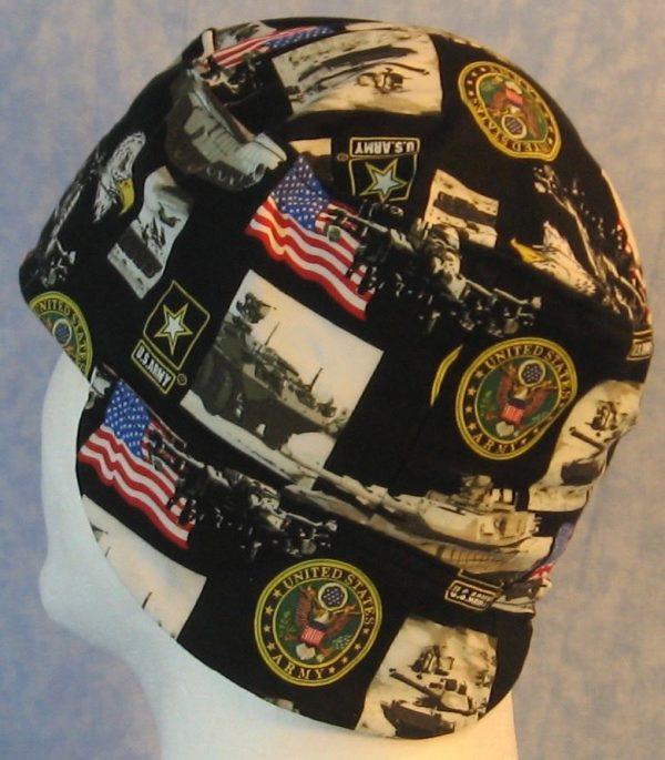 Welding Cap in US Army-side