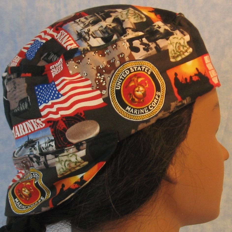 Welding Cap-US Marines-Adult 1XL