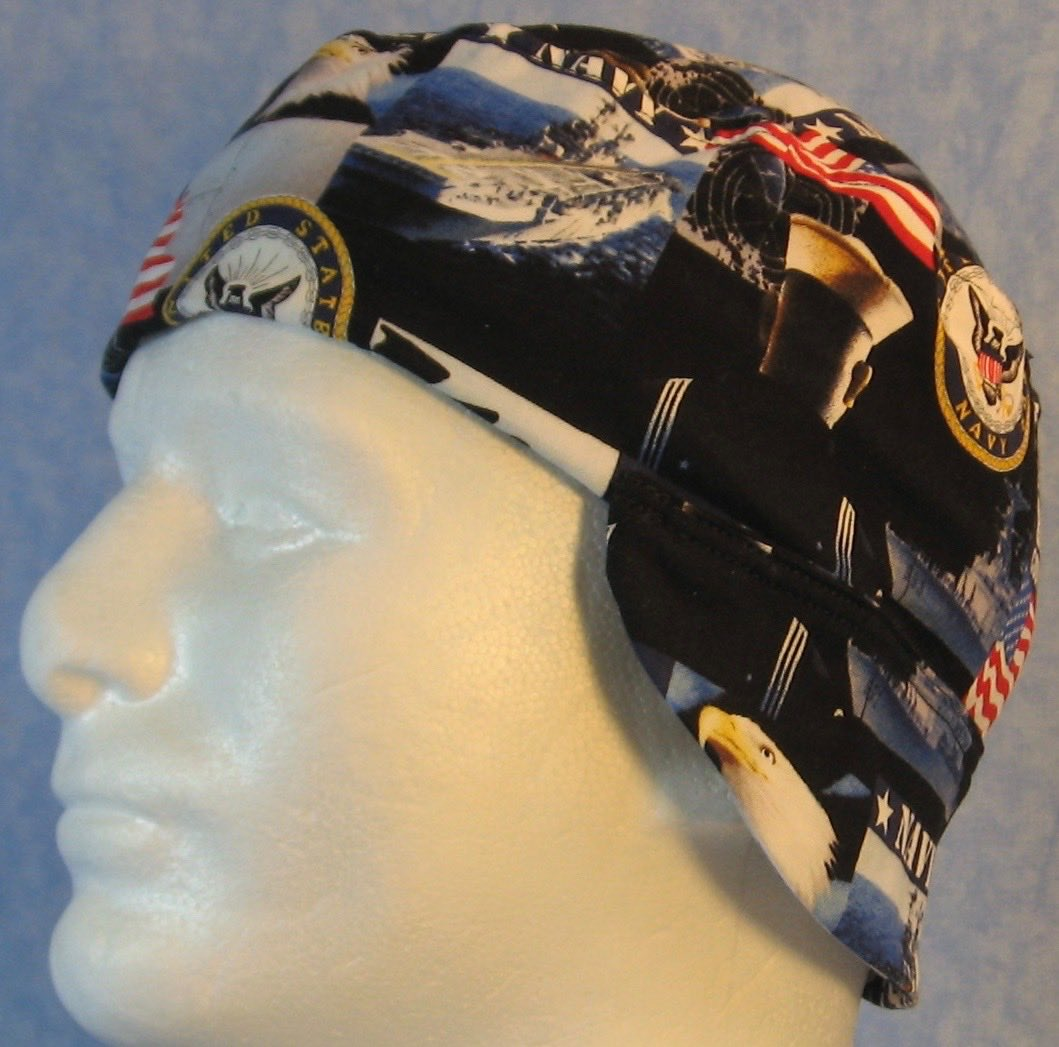 Welding Cap-US Navy-Adult M