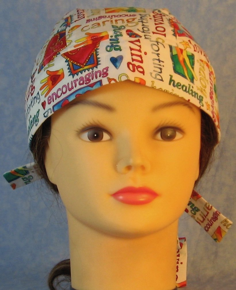 Do Rag-Loving Healing Multi-color on White-front
