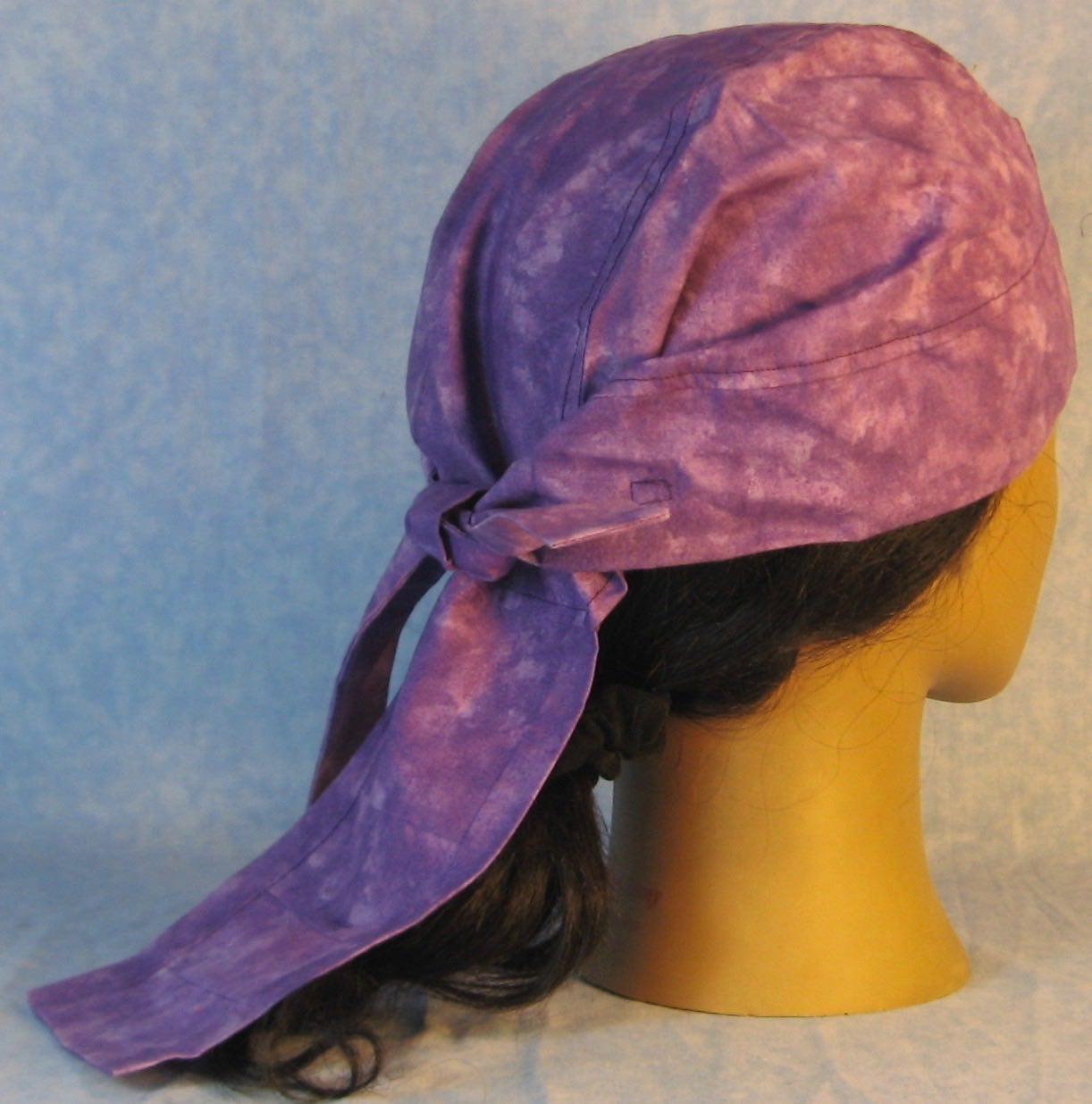 Do Rag-Purple Light Violet Tonal-back