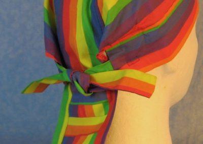 Do Rag in Rainbow Stripe-back
