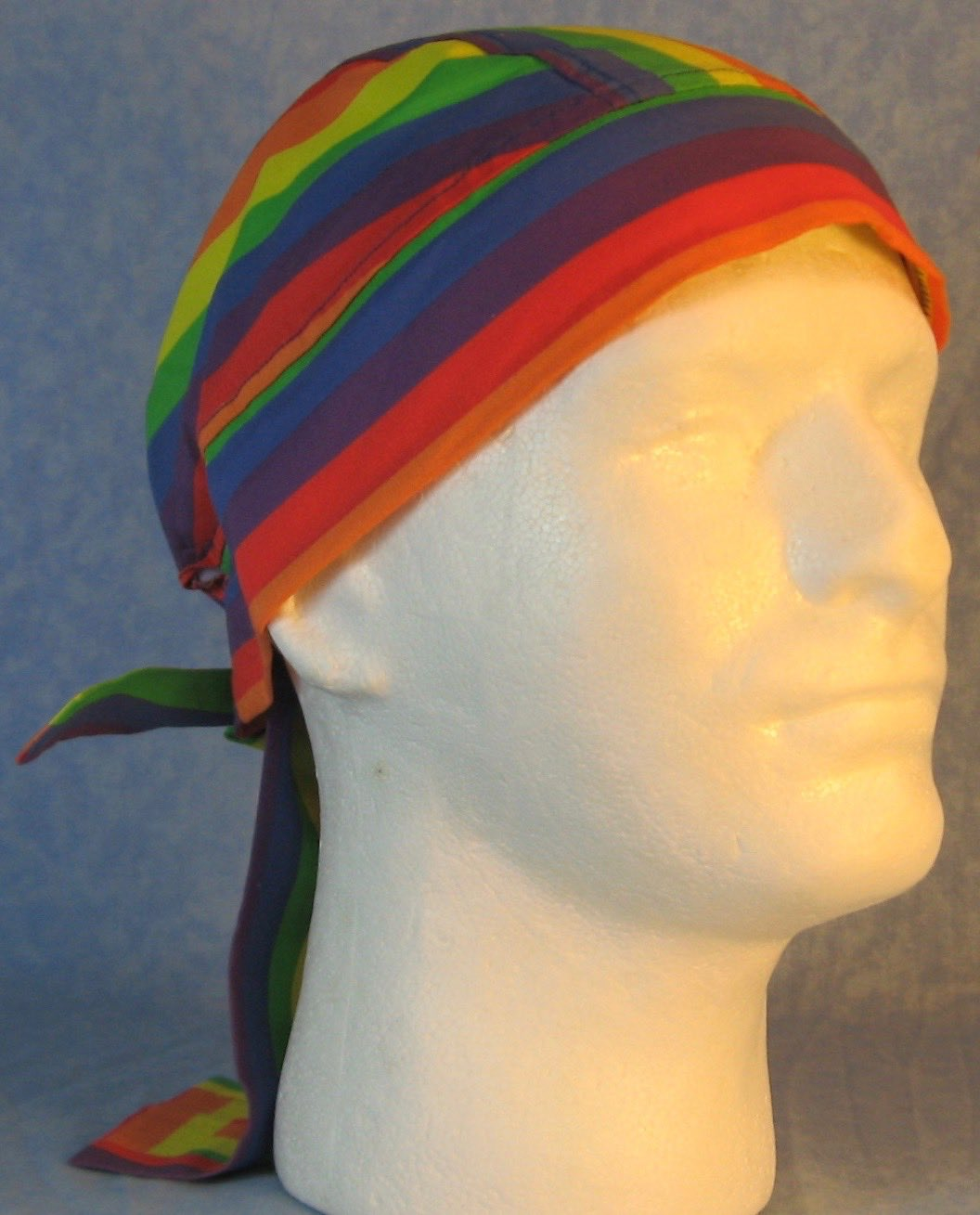 Do Rag-Rainbow Stripe-front right