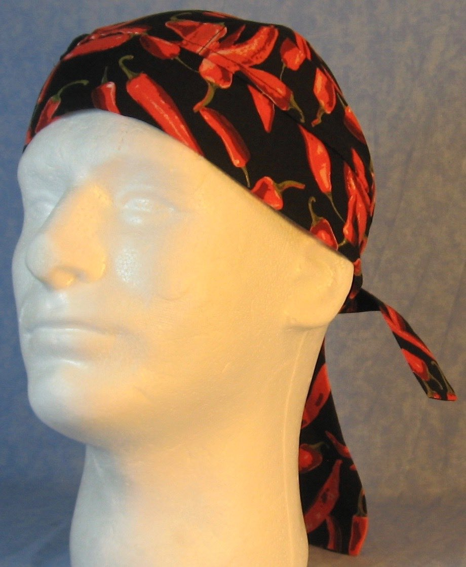 Do Rag in Red Pepper-Youth L-XL-Adult S