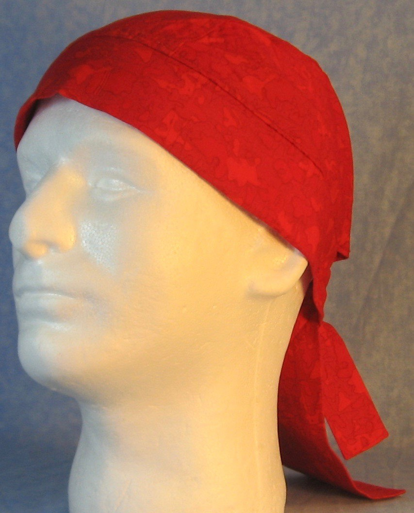 Do Rag-Red Puzzle Doodles-front left