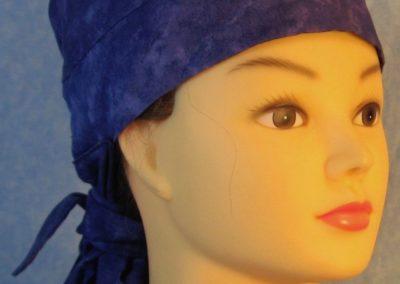 Hair Bag in Purple Tonal-front