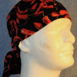 Hair Bag in Red Pepper-right
