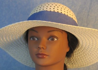 Hat Band in French Blue-front