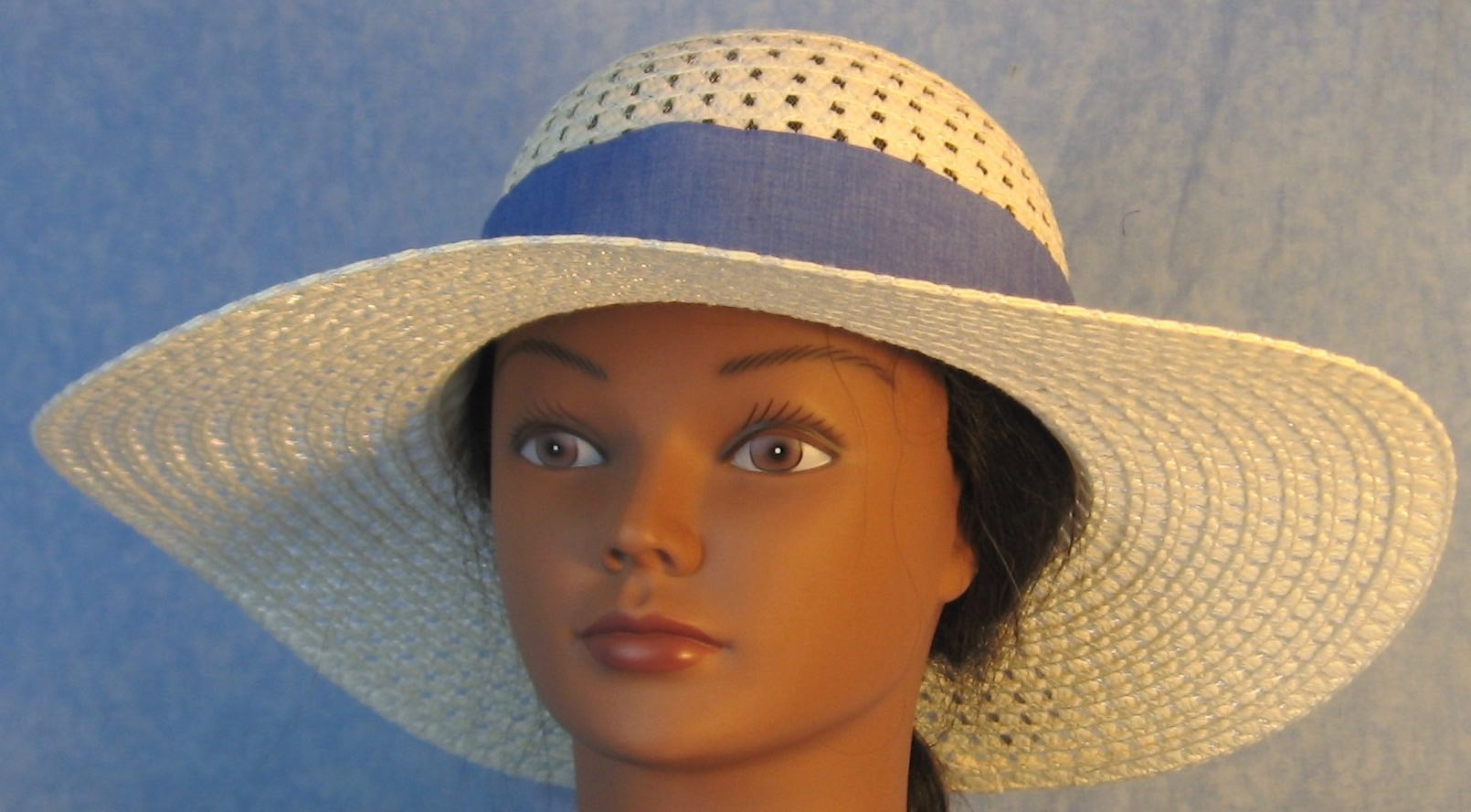Hat Band-French Blue-front