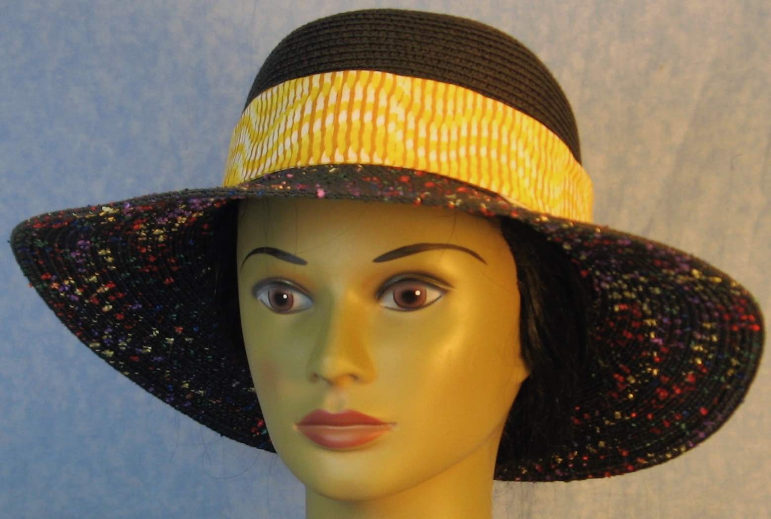 Hat Band-Yellow White Line Wave-front