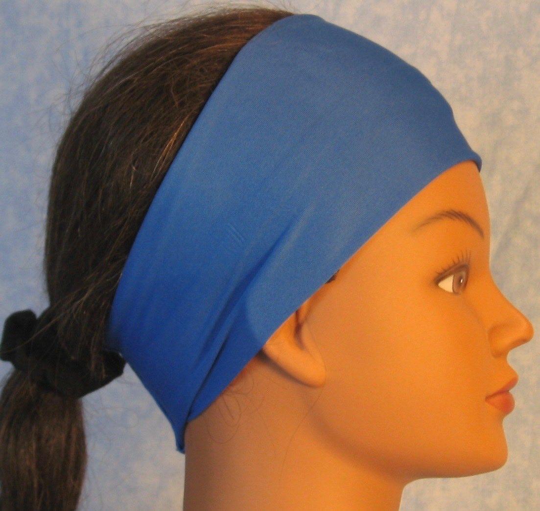 Headband-Blue Cornflower-right