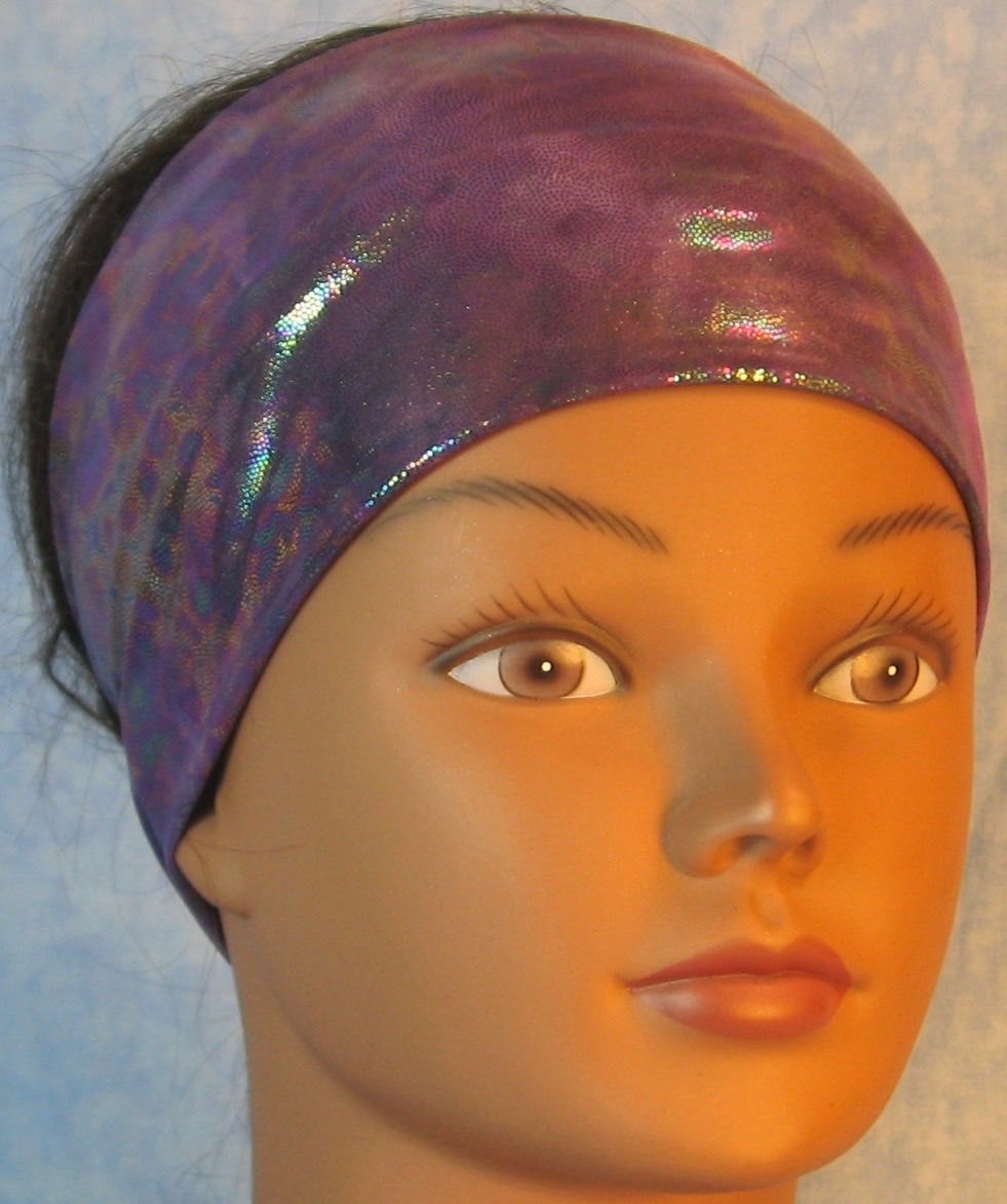 Headband-Purple Purple Oily-front