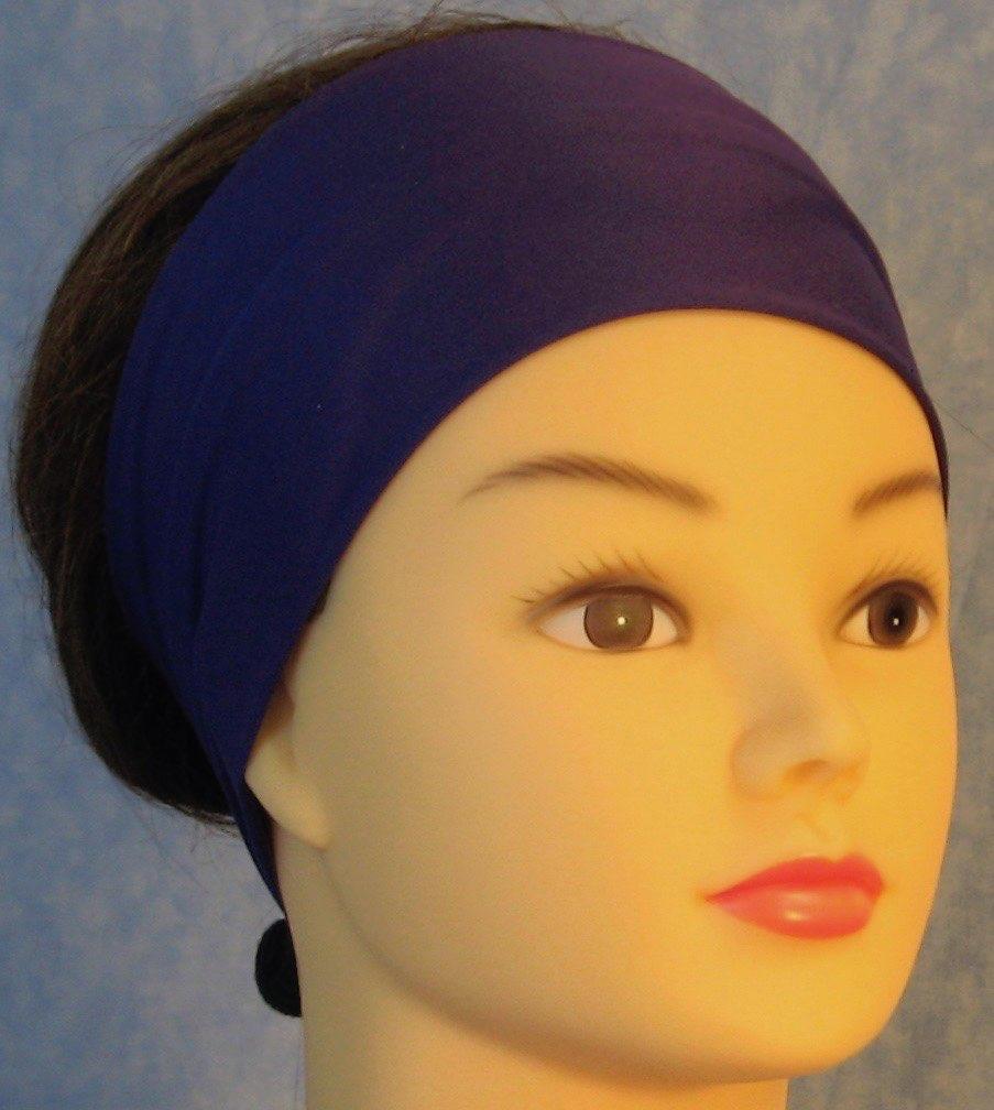 Headband-Purple Royal Knit-front