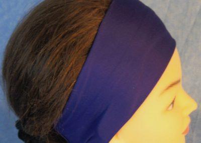 Headband in Purple Royal Knit-right