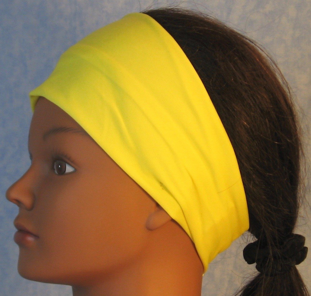 Headband-Yellow Daffodil Knit-Youth L-XL