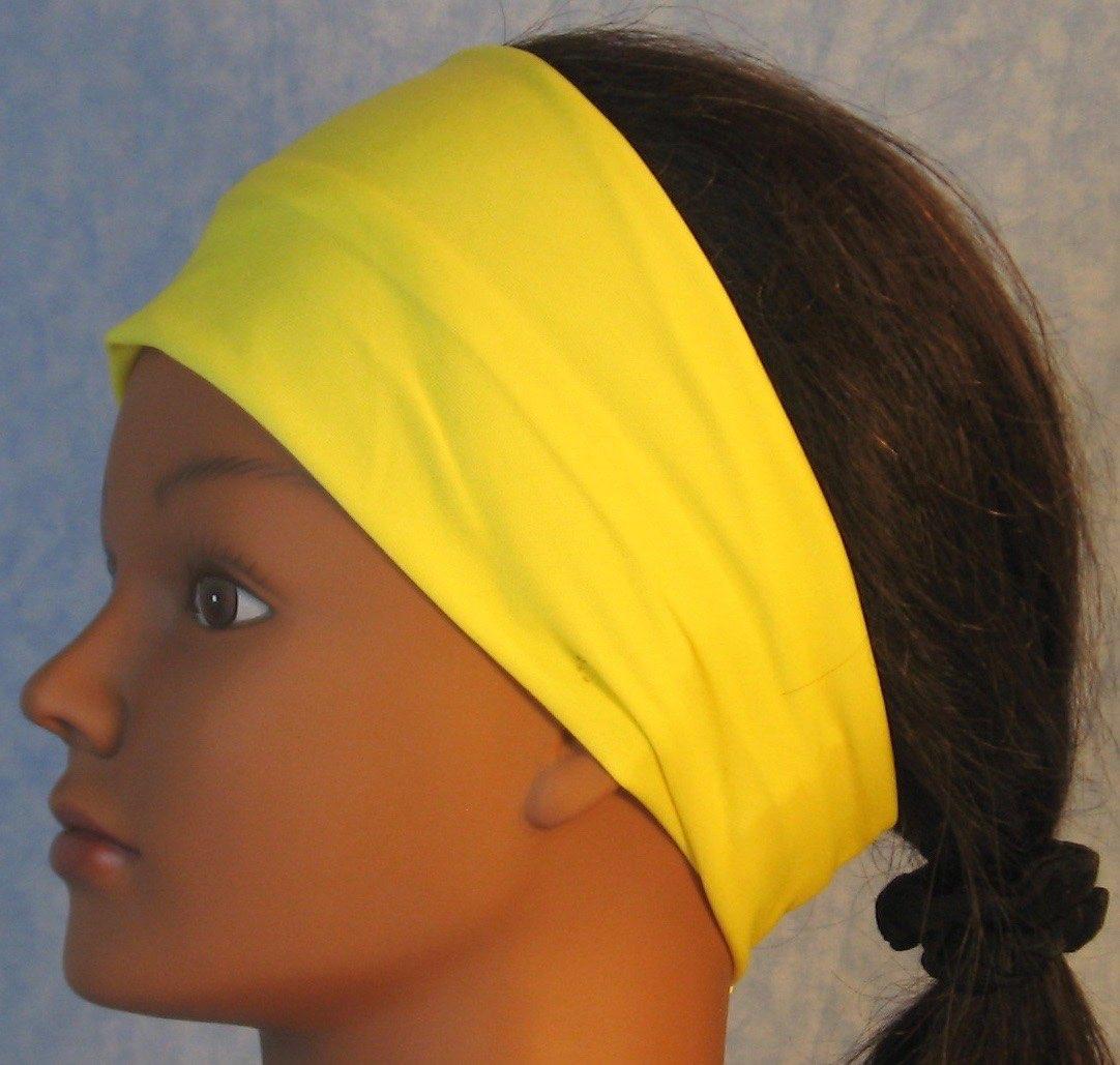 Headband-Yellow Daffodil Knit-Youth S-M