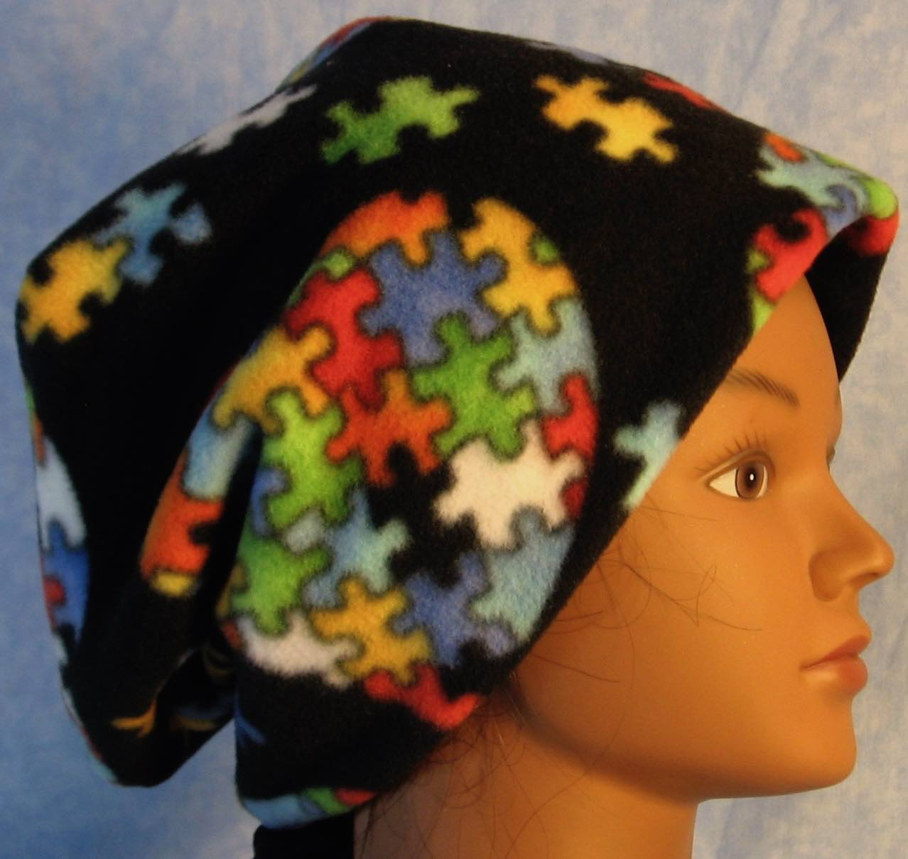 Long Hat in Autism Awareness-Adult L