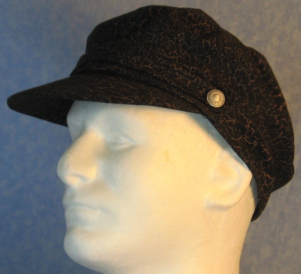Fisherman Fiddler-Black with Brown Marble-left front top guy