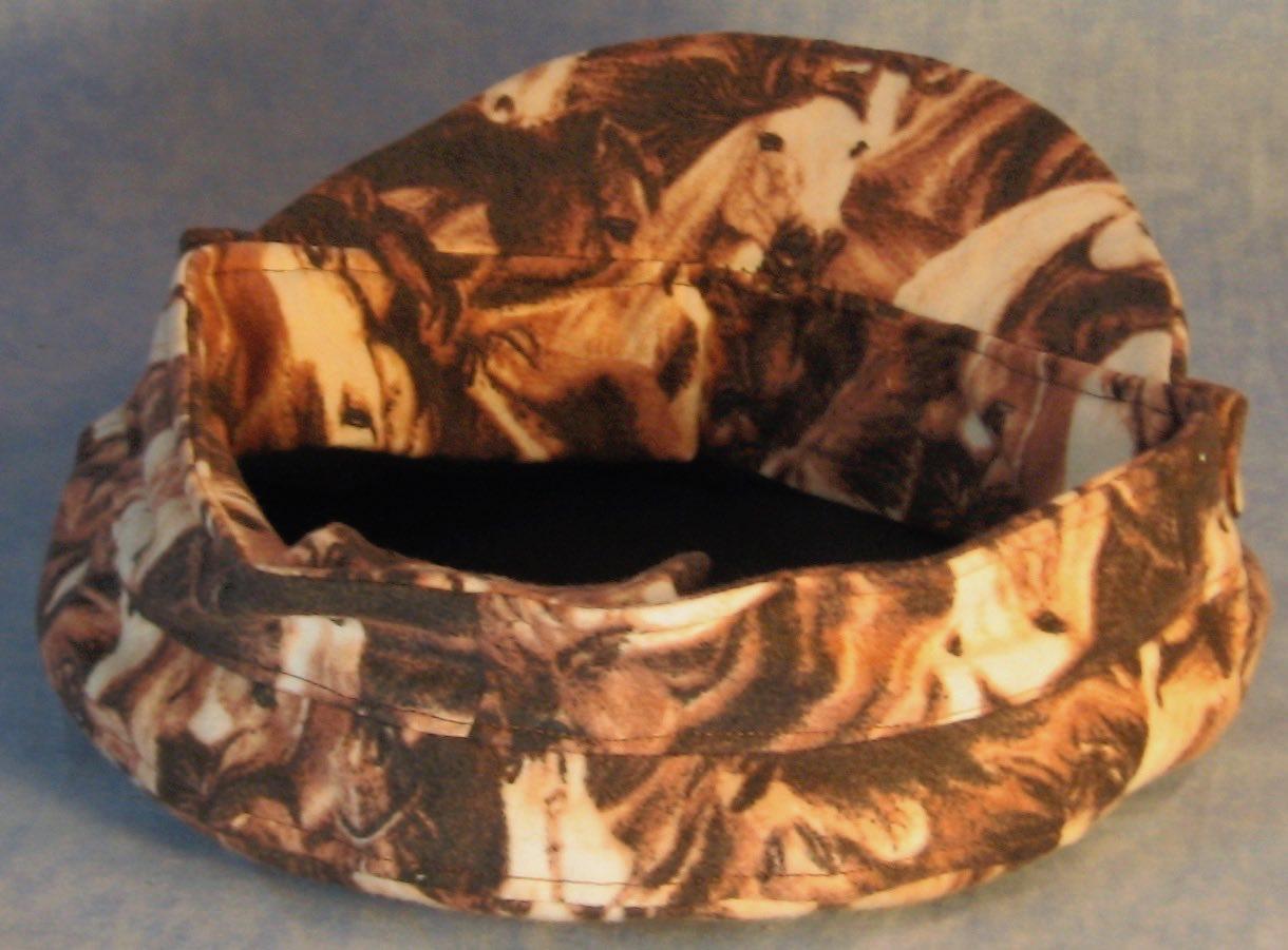 Fisherman Fiddler-Brown Horse Flannel-inside