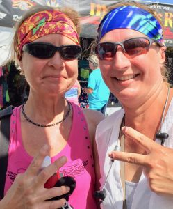 Mom and Daughter Headbands at BBB 2017