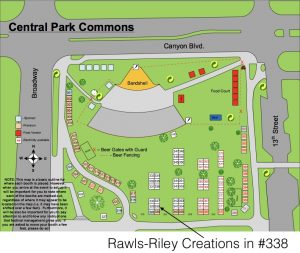 Rawls-Riley Creations at 338 Boulder Creek Festival 2018