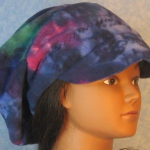 Newsboy-Blue Purple Green Motley-right front