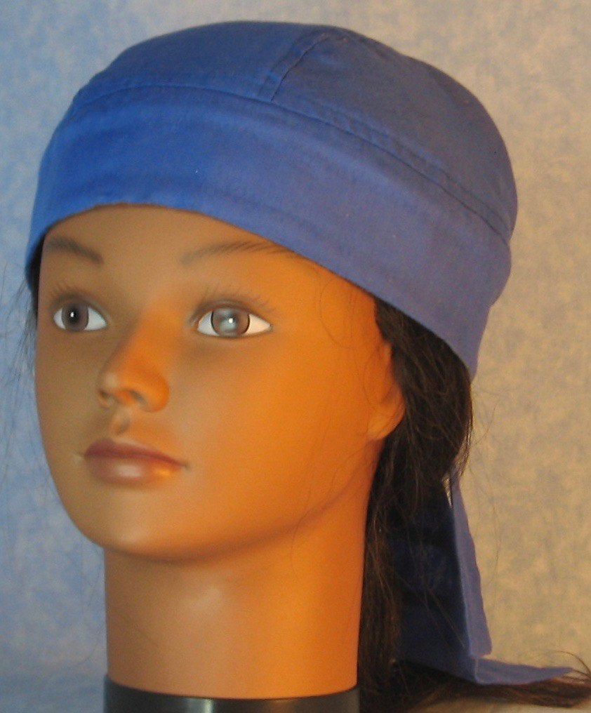Do Rag in Blue Royal Lightweight-Youth L-XL-Adult S