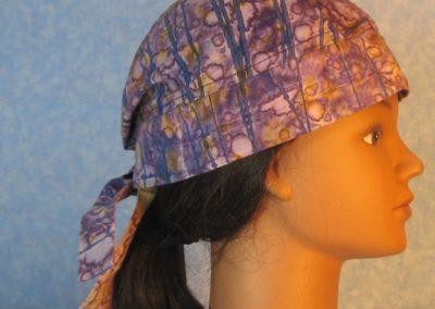 Do Rag-Purple Tan Blue Stripe Dyed-right
