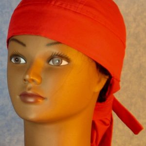 Hair Bag-Red-front