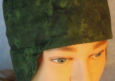 Welding-Dark Green Motley-front top