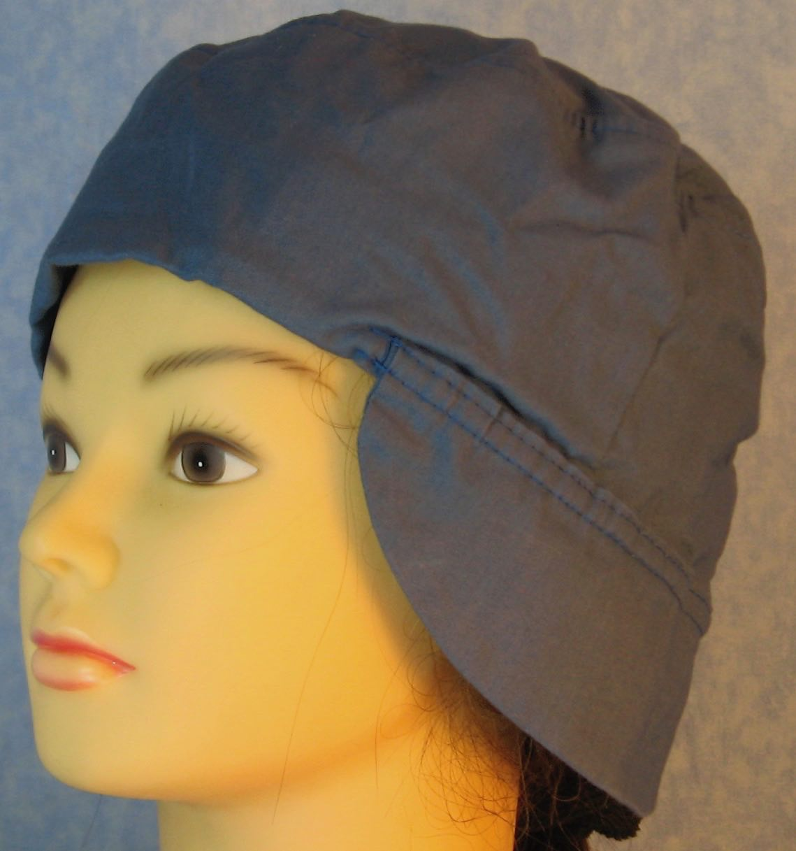 Welding Cap-French Blue-Adult L