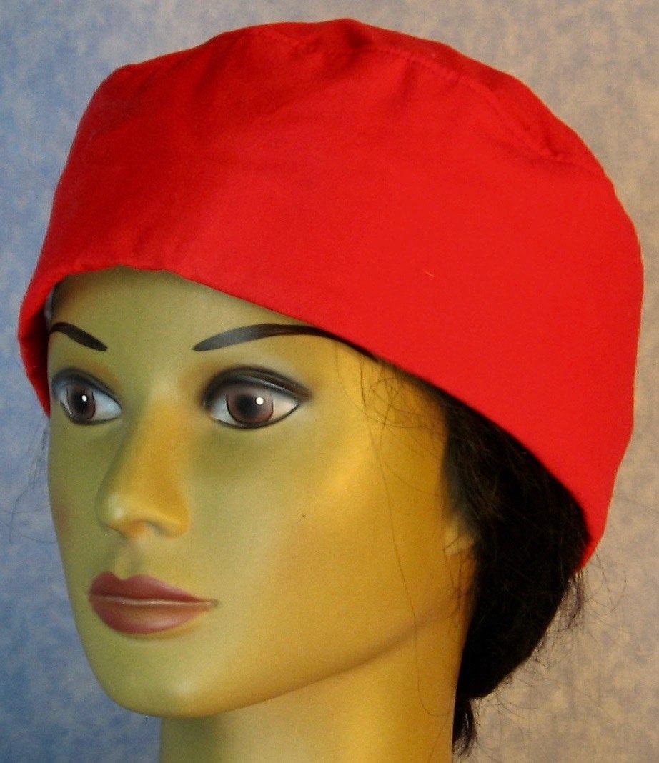 Skull Cap-Red-Adult XL