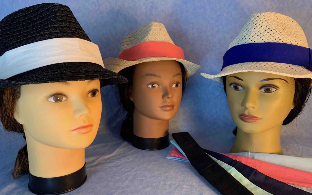 2019 APR 4 – Fedoras with Mix-'N'-Match Hat Bands