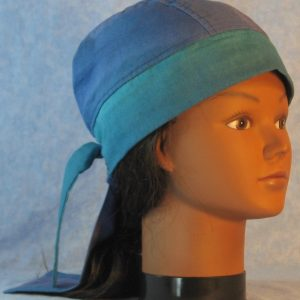 Do Rag in Blue Turquoise Graduating Shades-right