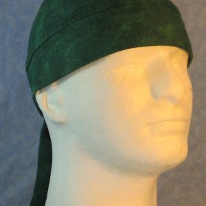 Do Rag in Green Green Motley Dots-front