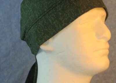 Do Rag in Olive Green Light Green Motley Marble-right