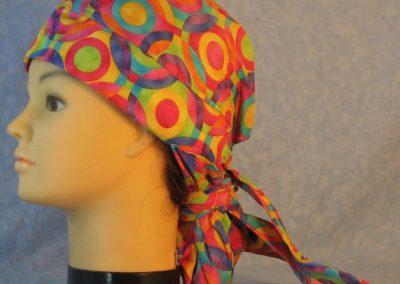 Hair Bag in Pastel Targets Overlapped-left