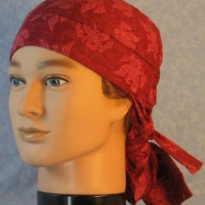Hair Bag in Red Eagle Figure on Red-front