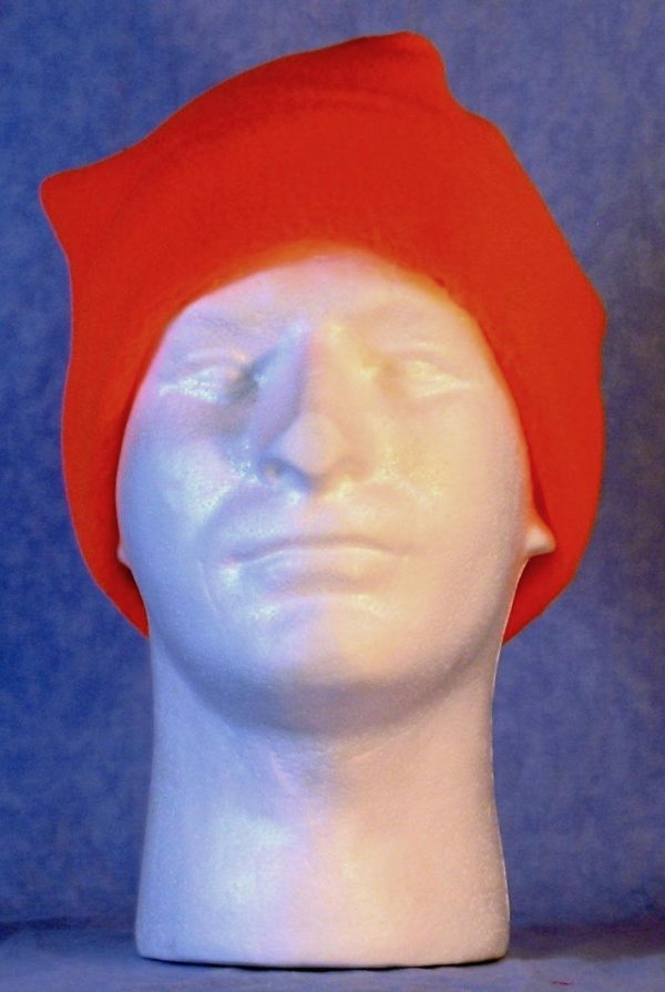Band Cap-Fluorescent Orange-front
