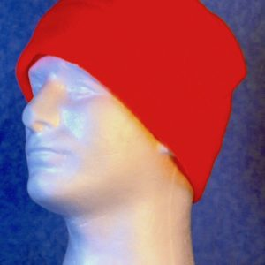 Band Cap-Fluorescent Orange-left