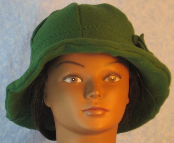 Cloche in Green-front