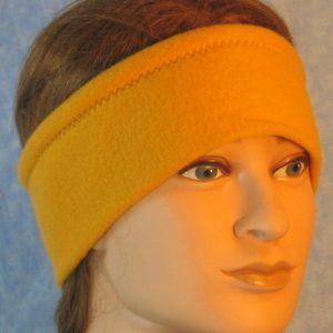 Ear Warmer in Mustard-front