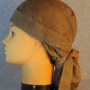 Hair Bag in Nomex Brown-left