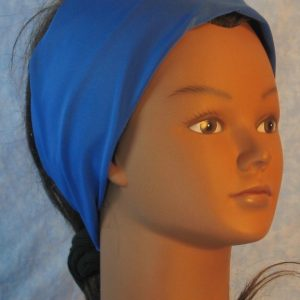 Headband in Royal Blue Moisture Management Tricot-right