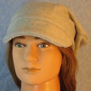 Newsboy in Light Gray-front