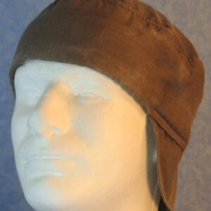 Welding Cap in Brown Nomex-front