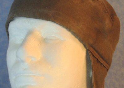 Welding Cap in Brown Nomex-front
