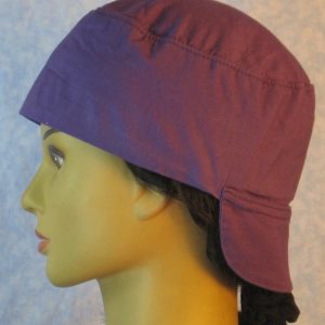 Welding Cap in Purple-left