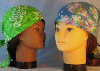 Blue Batik Sea Turtle Do Rags